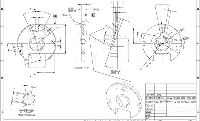 BV50 Thrust Bearing Melett