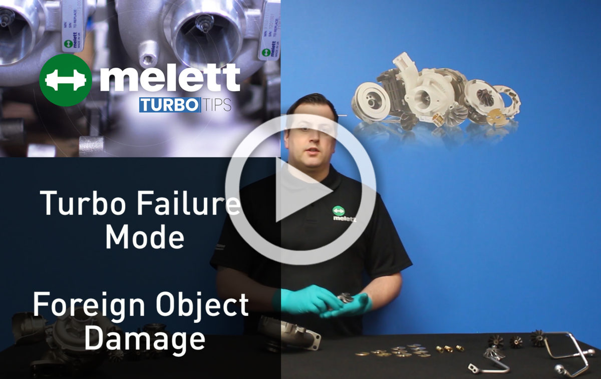 How does Foreign Object Damage cause turbocharger failure? 🎥
